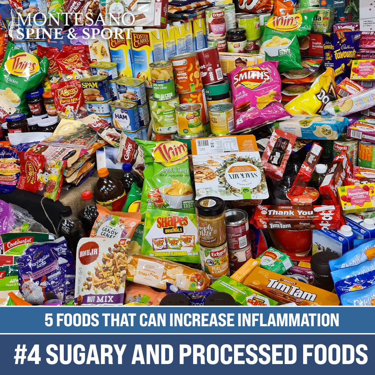 Read more about the article #4 Sugary and Processed Foods