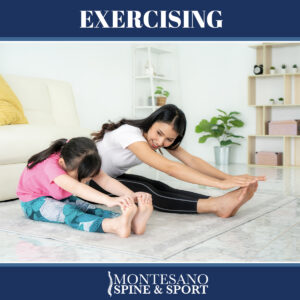 Read more about the article Exercising is one way to prevent back and neck pain.